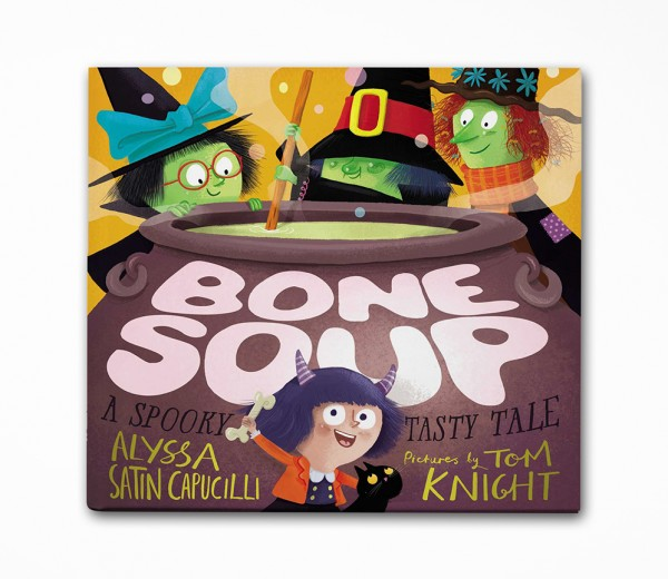 Bone Soup; A Spooky Tasty Tale